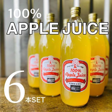 100%りんごジュース 1L 6本入り