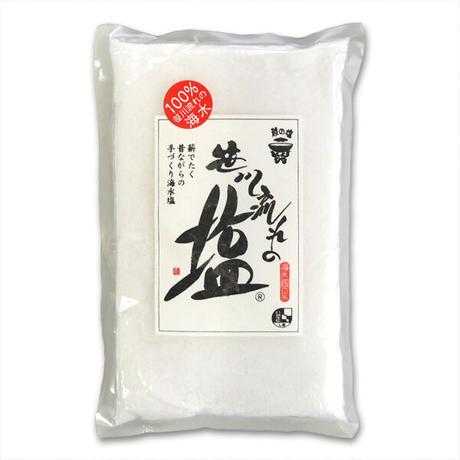 笹川流れの塩 粗塩 350g 日本海企画 [ゆうパケット] [越の塩] 新潟特選品シリーズ