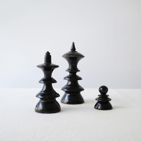 チェスの駒のオブジェ