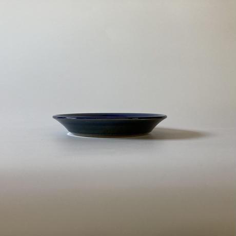 縁付平皿(6寸/約18㎝)呉須 (12)