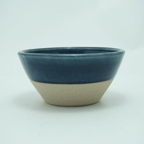 切立鉢(5寸/約15cm)呉須・下焼き締め (10)