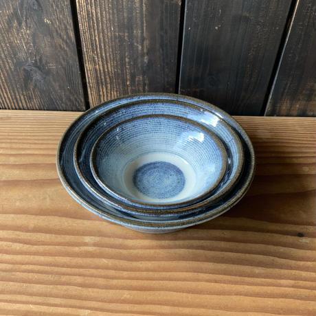 はたぞり切立鉢(6寸/約18㎝)海鼠 (12)