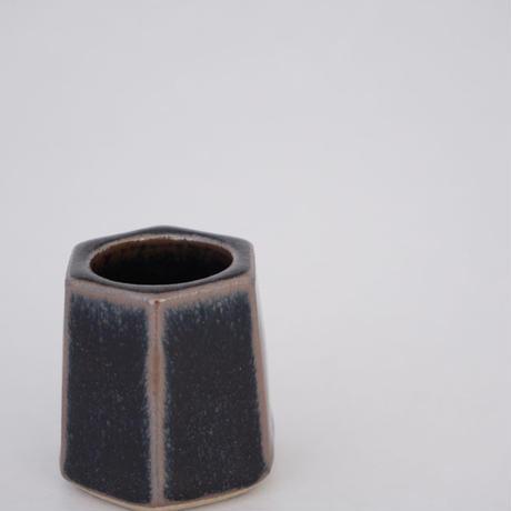 楊枝立て 黒 (高さ約5cm)(08)