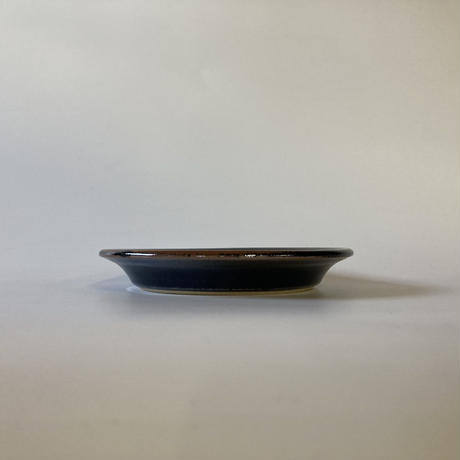 縁付平皿(6寸/約18㎝)黒 (12)
