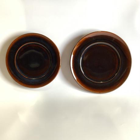 プレート(7寸/約21cm)飴 (03)