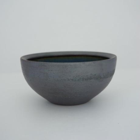ボウル(5寸/約15㎝)呉須・外鉄 (05)