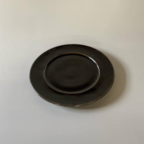 プレート(7寸/約21cm)黒 (03)