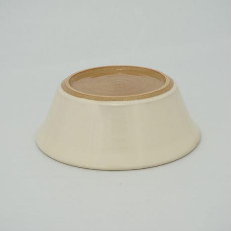 はたぞり切立鉢(5寸/約15㎝)白 (12)