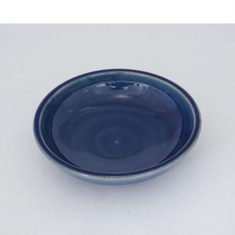 深皿(6寸/約18㎝)呉須 (02)