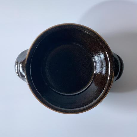 グラタン皿 黒 (07)