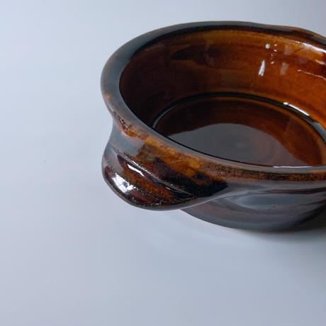 グラタン皿 飴 (07)