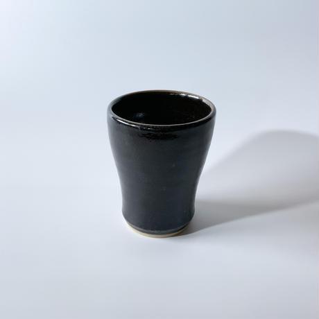 焼酎カップ 内外黒(口径約8.5cm・高さ約11.5cm)(10)
