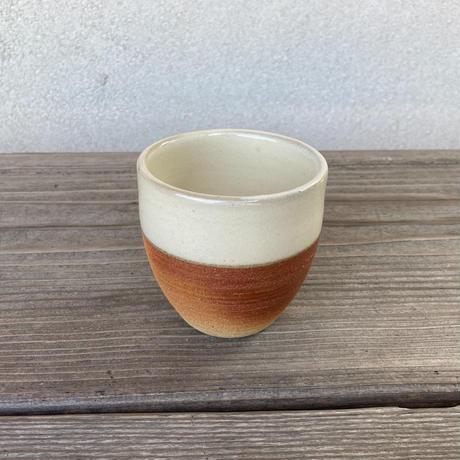 ウォーク型湯呑(大)白下焼〆 (13)