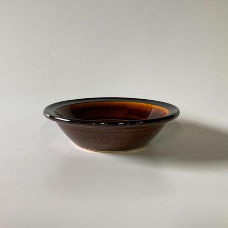 縁付深皿(6寸/約18㎝)飴 (10)