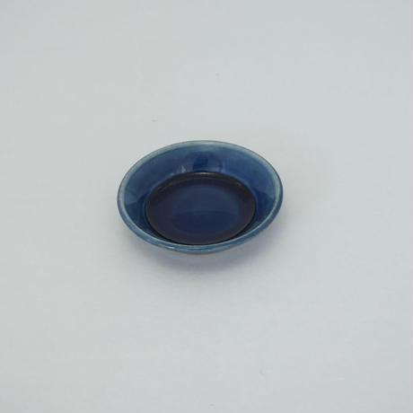 縁付平皿(3.5寸/約10.5㎝)呉須 (08)