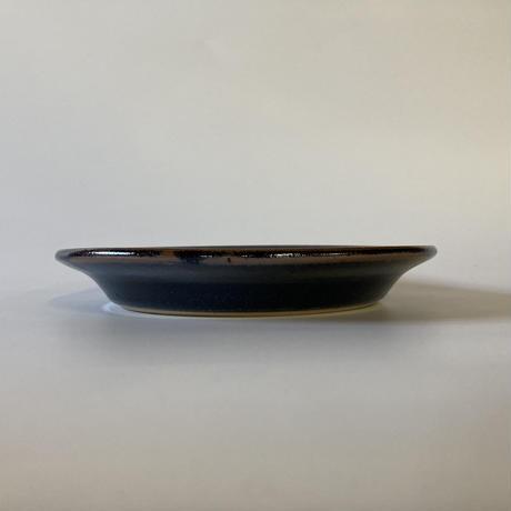 縁付平皿(7寸/約21㎝)黒 (12)