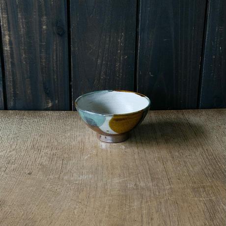 ご飯茶碗(小 口径約12cm・高さ約6cm)三彩 (11)