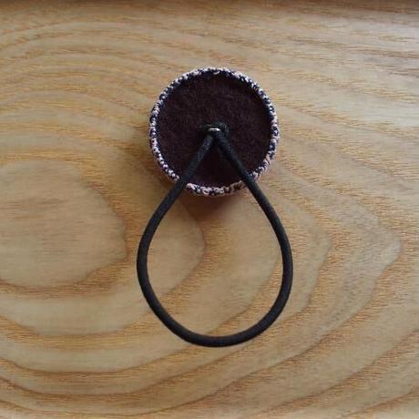 くるみボタン ヘアゴム (g5)