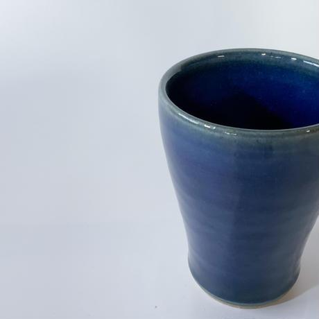 焼酎カップ 内外呉須(口径約8.5cm・高さ11.5cm)(10)