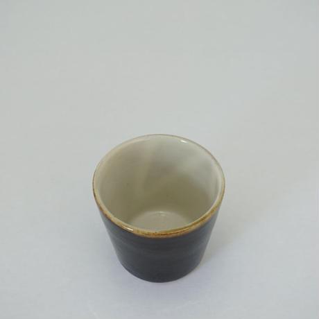 切立湯呑(小)黒 (04)