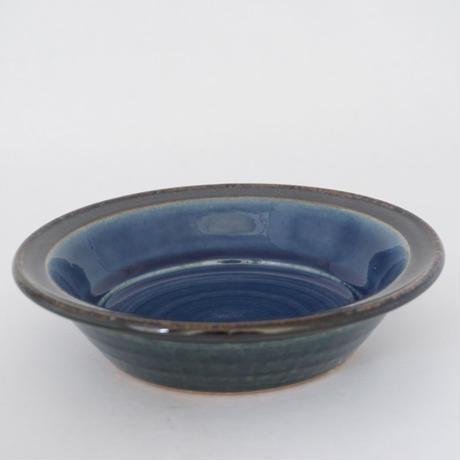 縁付深皿(6寸/約18~19cm)呉須 (10)