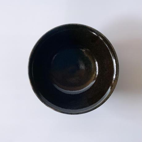 丼鉢(7寸/約21㎝)内外黒 (08)