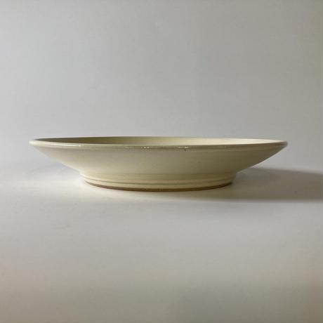 平皿(8寸/約24cm)白 (08)
