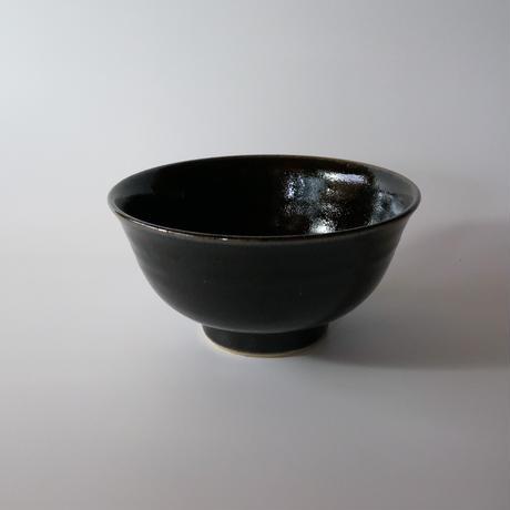 丼鉢(5寸/約15㎝)内外黒 (08)