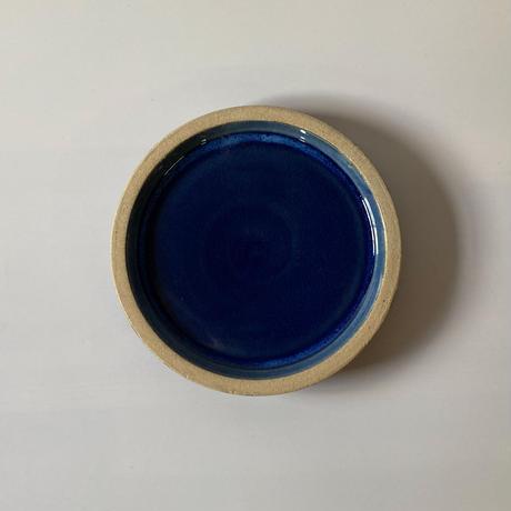 パン皿(6寸/約18cm)呉須 (13)