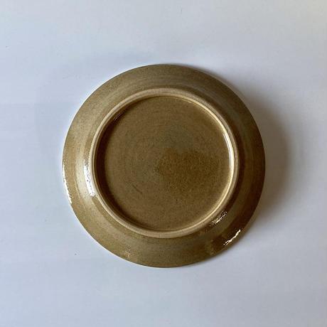 縁付平皿(7寸/約21㎝)白 (12)