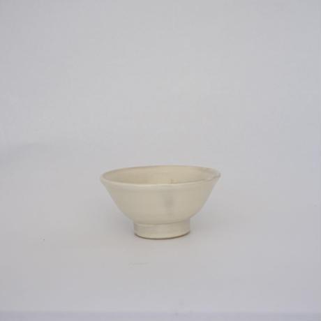 ご飯茶碗(小 口径約11.5cm・高さ約6cm)白(08)