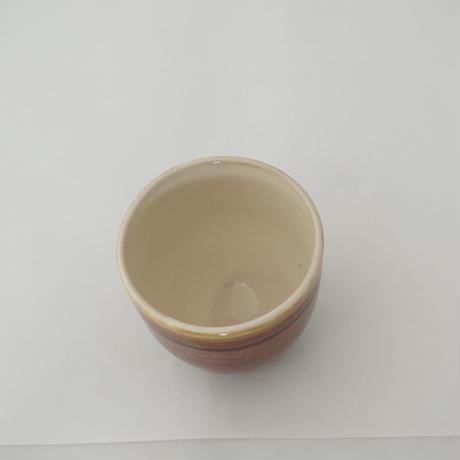 ウォーク型湯呑(小)飴 (13)