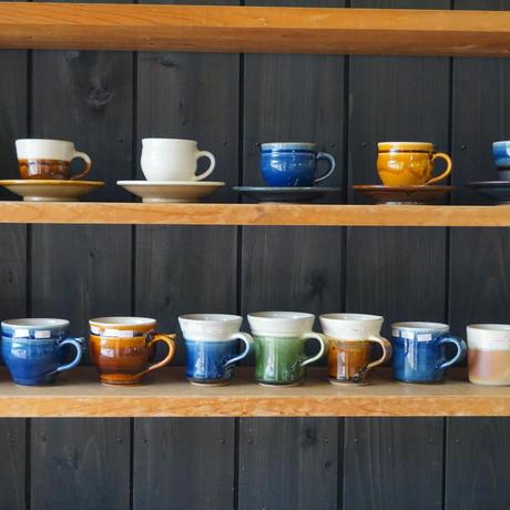 コーヒー碗皿 呉須(01)