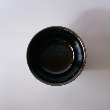 丼鉢(6寸/約18~19㎝)内外黒 (08)