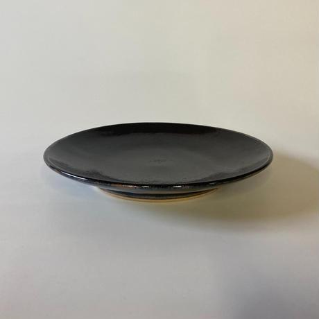 平皿(8寸/約24cm)黒 (08)