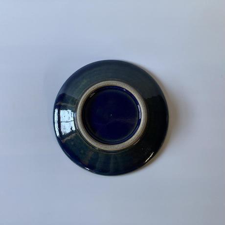 平皿(6寸/約18㎝)呉須 (01)