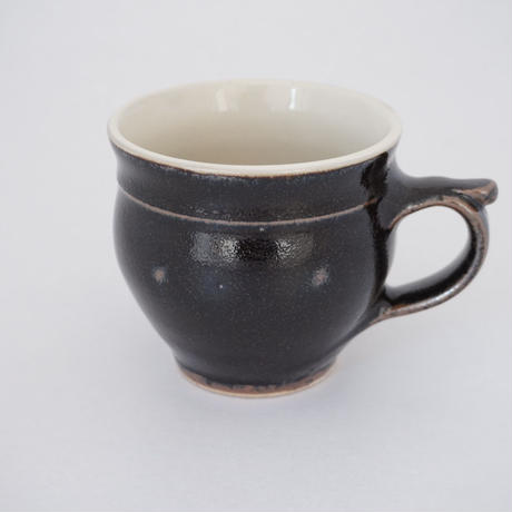 モーニングカップ 黒