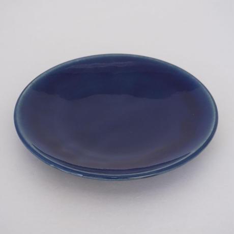 平皿(8寸/約24cm)呉須 (08)