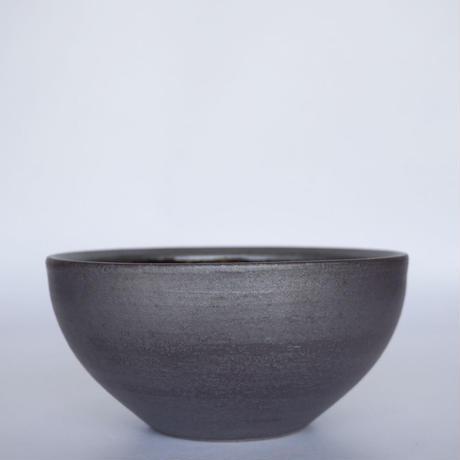 ボウル(6寸/約18㎝)呉須・外鉄(07)