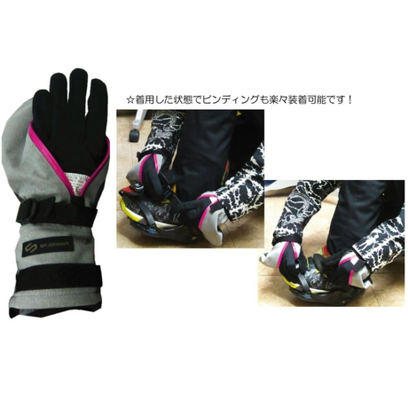 小松織物4WAYストレッチ《ST-BLUE》 Perfection Mitt GLOVE