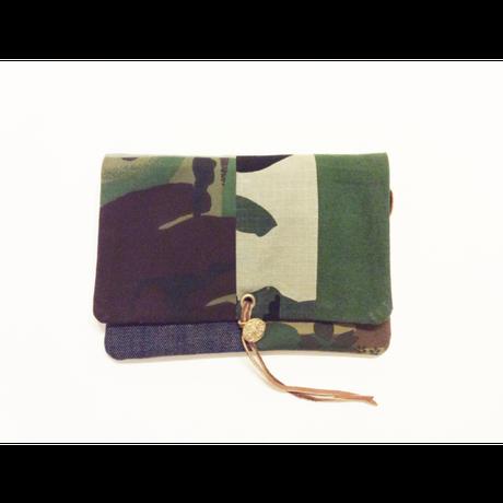 REMADE Clutch Bag CAMO 《クラッチバッグ Sサイズ 》