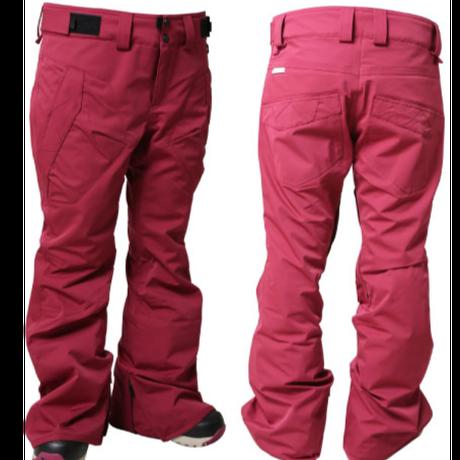 15-16 SP-design WP-02 ウィメンズVIVID PANTS (WINERED)