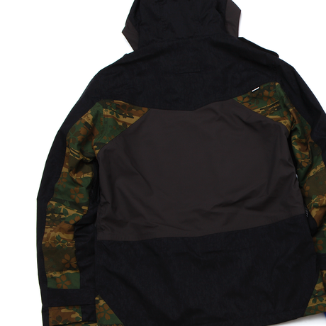RE-MADE Jacket BLACK×YUZEN CAMO×BROWN