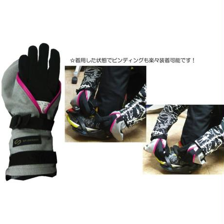 2WAY ストレッチPERFECTION MITT GLOVE《ST-DULL.BROWN》