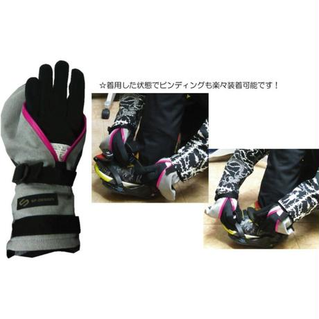 PERFECTION MITT GLOVE 《Leather BLACK》