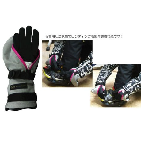 GORE-TEX®️PERFECTION MITT GLOVE (あかね) M-RIP- STOP《マイクロリップ-ストッブ》