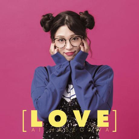 AI HASEGAWA 1stアルバム「LOVE」TypeA