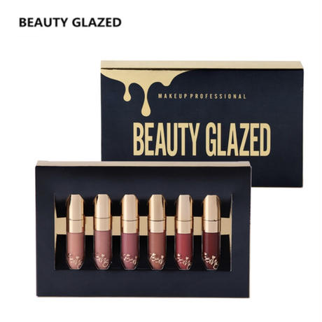 BEAUTY GLAZED 6colorリップセット