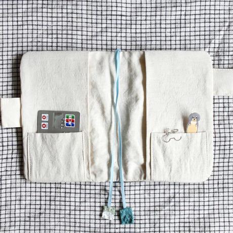 手帳カバー/文庫本/A6サイズ/ほぼ日手帳/ブックカバー/nico