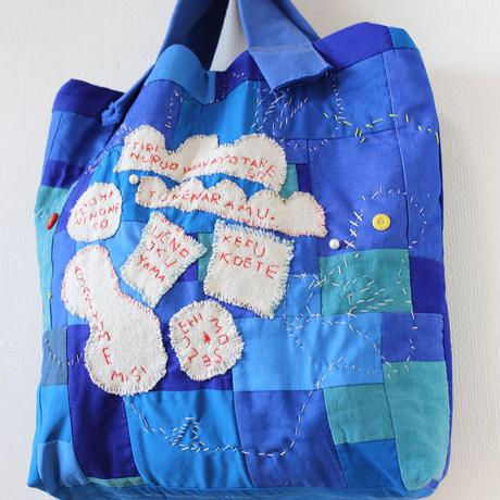 "2way-bluebag""iroha"""